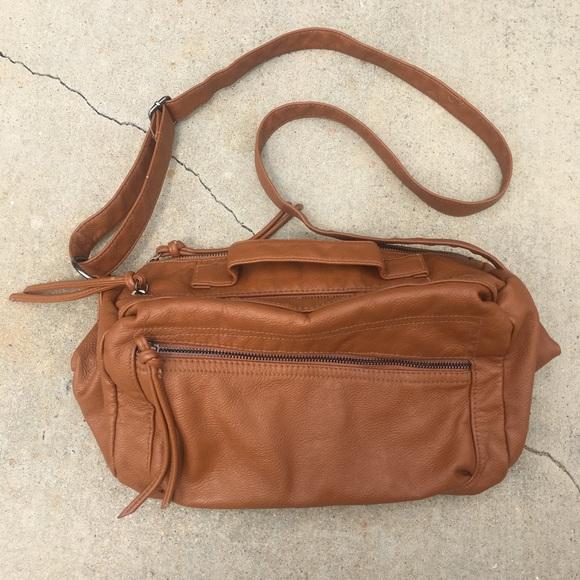 25ef045c9c6b Converse Handbags - Brown Converse Crossbody